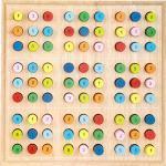 2489 Sudoku small foot in legno, nove campi Sudoku con combinazioni di numeri da 1-9, da 7 anni in poi