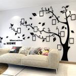 Adesivi murali 3D neri