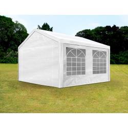 3x4 m Tendone per Feste, Gazebo PE 180 g/m², bianco
