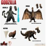 5 Points Xl Godzilla Destroy Monster S.1 Action Figura Mezco Toys
