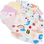 8 pc neonato cartoon naturale cotone per cancellare le stoffe per ragazza