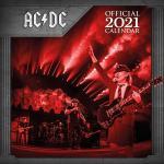 AC/DC - 2021 - Calendario da parete - Unisex - multicolore