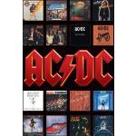 AC/DC - Album covers - Poster - Unisex - multicolore