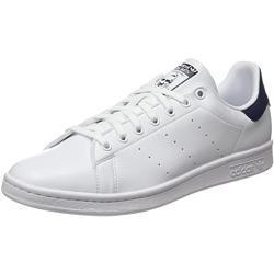 adidas Stan Smith, Scarpe da Ginnastica Uomo, Ftwr White/Ftwr White/Collegiate Navy, 39 1/3 EU
