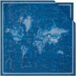 Alviero Martini Foulard in Seta 70 x 70 cm 1A Classe linea Geo Color Blu 3270