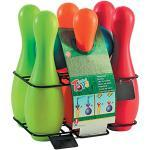Androni Set 6 Plastica con 2 Palle Bowling Bocce E Birilli 143, Multicolore, 8000796072207