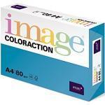 Antalis ColorAction - Risma di carta colorata per stampante fotocopiatrice laser a getto d'inchiostro, 500 fogli A4, grammatura 80, blu reale