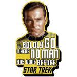 Aquarius Ent Star Trek Kirk Quote Magnet Magneti