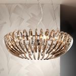 Ariadna - lampada a sospensione color champagne