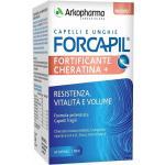 Arkopharma Forcapil Fortificante + Cheratina Integratore Capelli, 60 Capsule