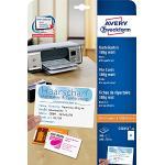 Avery Zweckform, C32254-25, Biglietti, 25 fogli, A4-fogli con 8 carte segnaposto, senza strati, bianco, microperforazione, 185 g, 105 x 70, microperforato