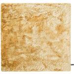 benuta Shaggy - Tappeto a pelo lungo Whisper, 60 x 60 cm, colore: Giallo