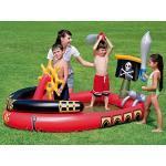 Bestway 53041 - Play Center Pirati con Giochi