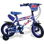 "Bicicletta Per Bambino 12"" 2 Freni Kidfun Regina Bmx Blu"