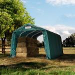 Box Cavalli 3,3x4,8 m, PVC 550 verde