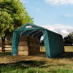 Box Cavalli 3,3x6,0 m, PVC 550 verde