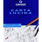 Canson 200005825 Blocco Disegno a Carta Lucida, 1 confezione con 10 fogli