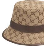 Cappello bucket GG con stampa