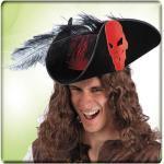 CARNIVAL TOYS S.R.L. Cappello Pirata Oak Con Bandana Rossa