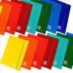 Cartellina One color - 26x35cm - 3 lembi - con elastico - Blasetti Quantita min. 10