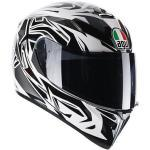 Casco Integrale Moto AGV K3 SV Multi ROOKIE White Gunmetal Black