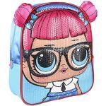 Cerdá Mochila Infantil 3D Premium Lentejuelas LOL, Zaino Kids Paillettes Unisex-Bambini, Multicolore, 26.0 x 31.0 x 10.0 cm
