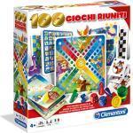 Clementoni - 100 Giochi Riuniti Gioco Da Tavolo Colore Multicolore, 12952
