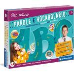 Clementoni - 11918 - Sapientino - Parole e Vocabolario - gioco educativo 7 anni per sviluppare lessico, gioco da tavolo, gioco per imparare le parole - Made in Italy