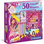 Clementoni - 12040 - Mia And Me Gioco di società, 50 Giochi Riuniti