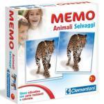 Clementoni 12833 - Memo Games Animali Selvaggi