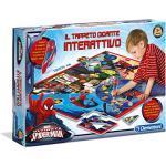 Clementoni - 13276 - Sapientino - Il Tappeto Gigante Interattivo Spiderman Ultimate - Made in Italy, puzzle bambini, gioco educativo bambini 3 anni, gioco elettronico parlante (versione in italiano)