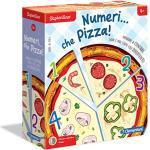 Clementoni - 16127 - Sapientino - Numeri…Che Pizza - gioco per imparare a contare, gioco sui numeri - gioco educativo 4 anni tessere illustrate - Made in Italy