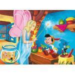 Clementoni - 23559 - Maxi Puzzle Pinocchio La Magia, 104 Pezzi