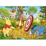 Clementoni - 24408 - Puzzle Supercolor Maxi Winnie The Pooh: Bow And Arrow, 24 Pezzi