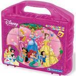 Clementoni - 41142 - Puzzle Cubi Princess, 12 Pezzi