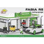 Cobi COB24580 Skoda Fabia R5 Racing Garage Mattone Costruito Modello Kit