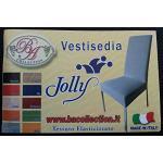 Coppia Vestisedia Tinta Unita Elasticizzato Coprisedia Millerighe Bielastico(scegliene Il Colore Gradito Con Una Mail)
