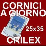Cornice a Giorno 25x35 in Crilex Antinfortunistico, Ultra- Trasparente e Leggero - Cornici 25x35 cm.