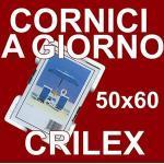 Cornice a Giorno 50x60 in Crilex Antinfortunistico, Ultra- Trasparente e Leggero