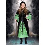 Costume Halloween per Bambini Bambini strega Costume Abiti e mantello di Halloween Costume Carnevale Costume Halloween