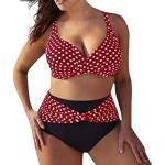 Costumi da Bagno Donna Due Pezzi VJGOAL Sexy Taglie Forti Modellante Fascia Imbottita Vita Alta Micro Bikini Brasiliana Bambina Trikini Curvy Push Up Costume da Bagno Donna Intero Mare Offerte Prime