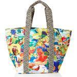 Desigual Fabric Shopping Bag, Borsa shoppering Donna, Materiale Finitura:, U