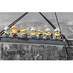 Despicable Me - Minions Lunch On A Skyscraper Maxi Poster 61cm x 91.5cm (24 x 36 inches) by Despicable Me