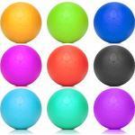 #DoYourFitness Lacrosse Ball »Lio« (Diametro 6 cm) in Colori Diversi per Il Massaggio di Punti Trigger. Palla da Massaggio Perfetta/Turchese