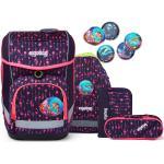 Ergobag Cubo Zaino scolastico con accessorio set di 5pz. multicolore