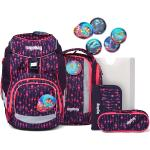 Ergobag Pack zaino scolastico con accessorio set di 6pz. con set di Kletties multicolore