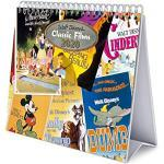 Erik® - Calendario da tavolo 2020, 17x20 cm - Disney Classic Films, Special Edition