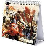Erik® - Calendario da tavolo 2020, 17x20 cm - Marvel Comics