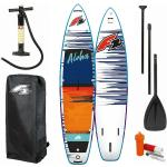 F2 Aloha 12'2 SUP Board rosso Stand up paddle