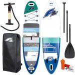 F2 California 11'6 SUP Board blu Stand up paddle